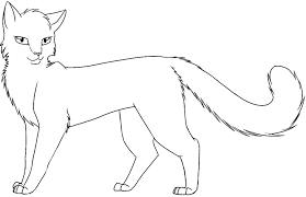 Small Picture warrior cat coloring pages warrior cat free coloring pages on
