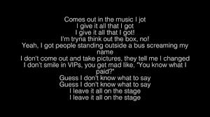 No Name Nf Lyrics