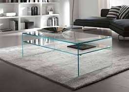 modern glass top coffee table types