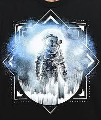 Imaginary Foundation Direct Black T Shirt