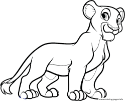 Pride Coloring Pages Lion King 2 Simbas Pride Colouring Pages Coloring Baby Simba Local