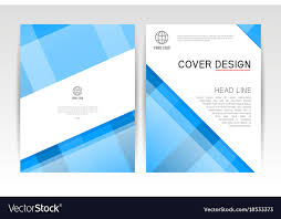Cover Magazine Layout Cover Design Template