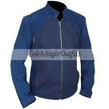 steve rogers captain america 2 winter solr blue jacket