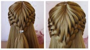 Coiffure Cheveux Long Mi Long Coiffure Avec Tresse Facile