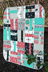 10 Easy Baby Quilt Patterns That Stitch Up Quick & Quarter Cut Baby Quilt Adamdwight.com