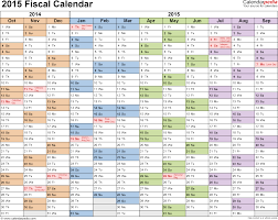 calendars monthly 2015 fiscal calendars 2015 as free printable word templates