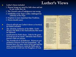 christianity challenged ppt  luther s views luther s theses included