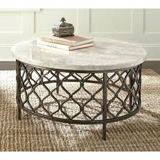 round stone top coffee table stone top round coffee table by living blue stone top coffee