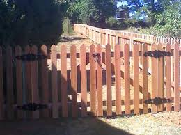 picket fence double gate. Interesting Picket Henderson Fence  Central Virginia Picket Red Cedar Double Gate In K
