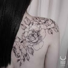 Flower Tattoos On Shoulder Blade Flowers Tattoo тату на лопатке