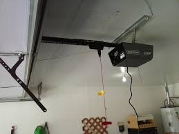 malfunctioning craftsman garage door opener