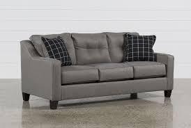Brindon Charcoal Queen Sofa Sleeper - 360 ...