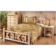 bedroom picture of bear castlecreek diamond cedar log bed