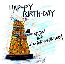 Доктор кто поздравление с днем рождения