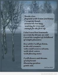 inspirational winter snow poems and