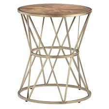 gold metal end tables progressive furniture gold metal round end table gold metal and glass side tables