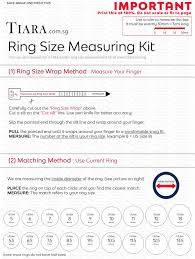 Average Woman S Ring Size Chart How To Measure Your Ring Size Ring Size Chart Tiara Com Sg
