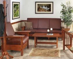 image mission home styles furniture. living room with authentic mission style furniture and white walls image home styles