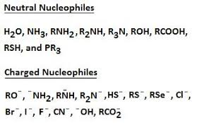 Nucleophile Chemistry Libretexts