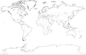 World Map Coloring Page With Countries Pdf Free Printable Pages