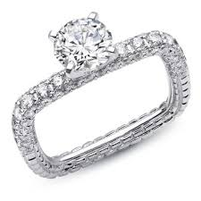 euro shank diamond enement ring alessia collection