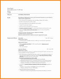 General Resume Objectives Resume Templates