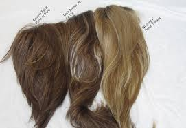 Chocolate Real Wigs