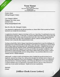 Collection Of Solutions Clerical Assistant Cover Letter Sample In