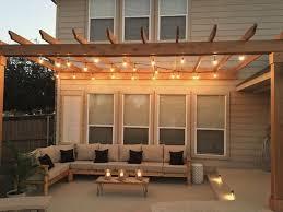pergola lighting ideas. 99 Deck Decorating Ideas Pergola, Lights And Cement Planters (62) Pergola Lighting O