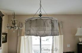 modern rustic pendant lighting. modren lighting creative rustic pendant light drum fabric shades with unique wired cage for  living room on modern lighting l