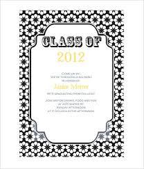 Free Graduation Party Invitation Templates For Word Graduation