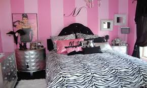 Small Bedrooms With Double Beds, Pink Zebra Girl Bedroom