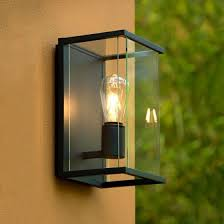 lucide claire half lantern outdoor wall
