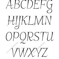 cool letters stencils fancy italic uppercase lowercase letter stencils a z 1 4 to 12
