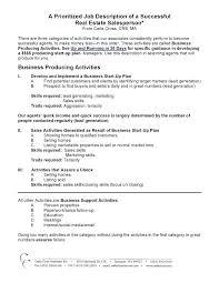 Real Estate Agent Job Description For Resume