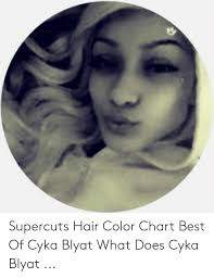 Supercuts Hair Color Chart Supercuts Hair Color Chart Best Of Cyka Blyat What Does Cyka