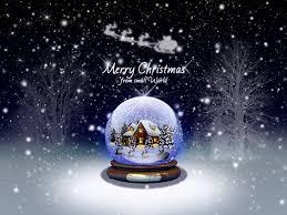 クリスマスのスノードーム