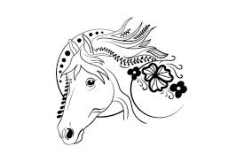 Sorry we couldn't find any matches for horses outline. Linework Horse Svg Cut File By Creative Fabrica Crafts Creative Fabrica