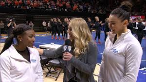 Kyla Ross and Nia Dennis discuss their performance in win over Oregon  State, team motto