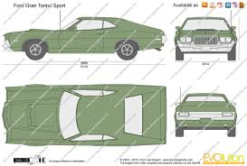 the blueprints com vector drawing ford gran torino sport Fuse Panel Wiring Diagram Dxf Dwg Automotive ford gran torino sport