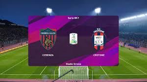 PES 2020 | Cosenza vs Crotone - Serie B | 20/01/2020