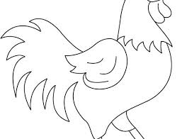 Small Picture Rooster coloring pages wwwbloomscentercom