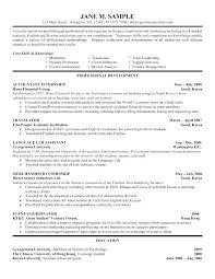 Undergraduate Resume Sample Undergraduate College Resume Template