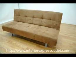 simmons futon. interiorexpress outlet tan microfiber convertible sofa bed - futon special simmons a