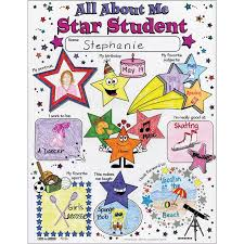 Ready-To-Decorate All About Me Star Student Posters