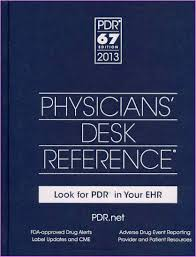 physician desk reference book