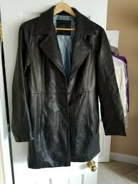 collezione sa men s very soft 100 leather jacket black size xl for