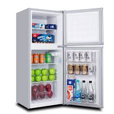 tiny refrigerator office. Special Offer Small Refrigerator 143L Double Door Home Dormitory Office Frozen Energy-saving Tiny