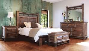Bedroom: Rustic Wood Bedroom Set