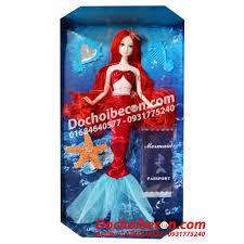 Búp bê Nàng tiên cá Ariel JND1602 - Có khớp - Màu tím - Barbie - BBARIELTÍM  JND1602